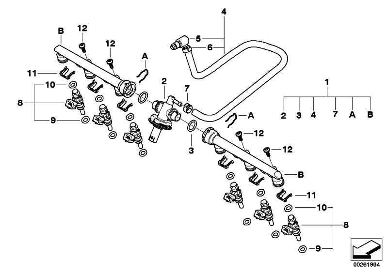 Kraftstoffdrucksensor mit Gehäuse   (13538532989)
