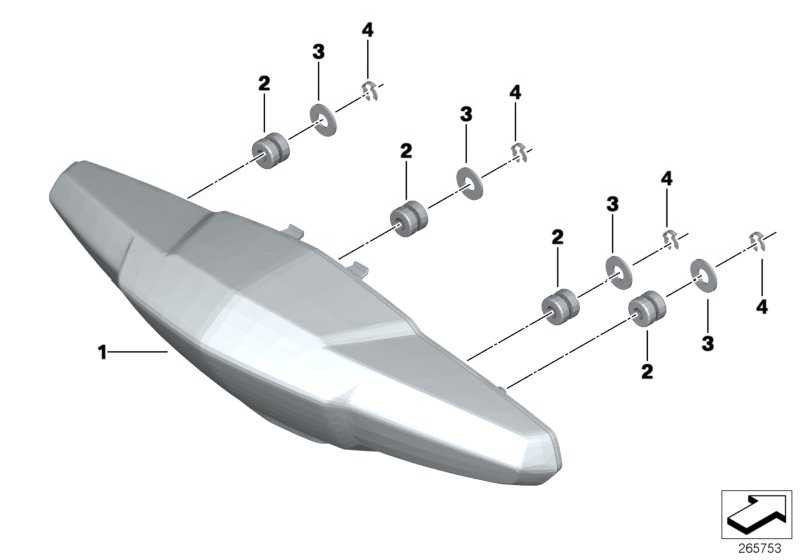 LED Heckleuchtenkombination   (63218525446)