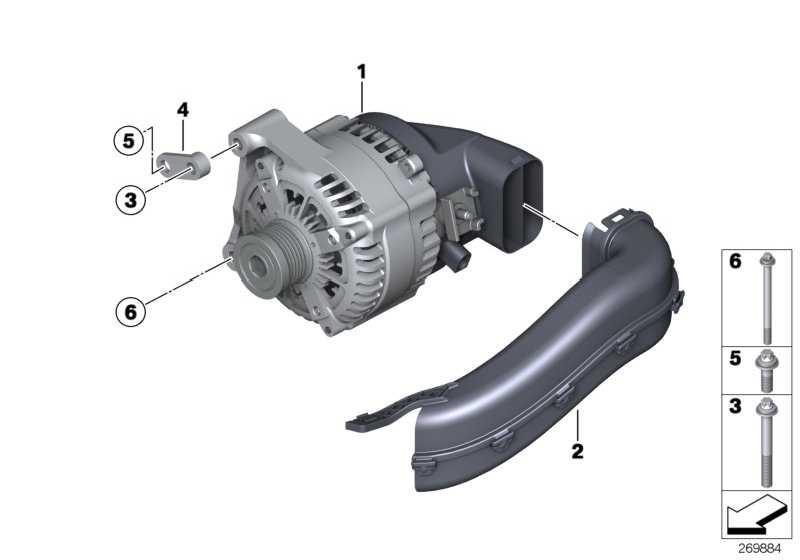Austausch Generator 170A            1er 3er  (12317610260)