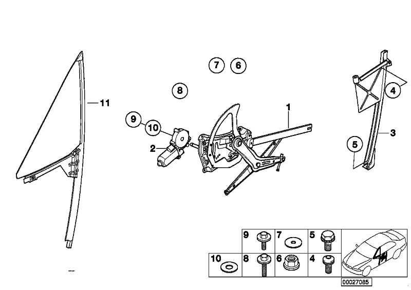 Flachmotor rechts  Z3  (67628401792)