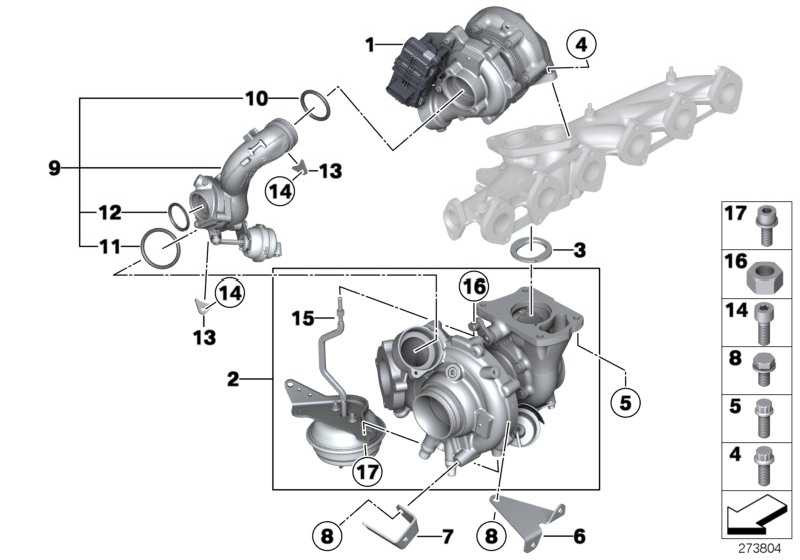 Austausch Turbolader  3er 4er 5er 6er 7er X3 X5  (11658510942)