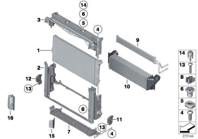 Kühlmittelkühler  6er 7er  (17118615454)