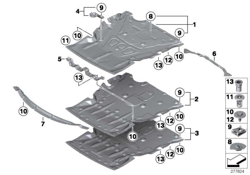 Motorraumabschirmung  1er 3er  (51757241814)