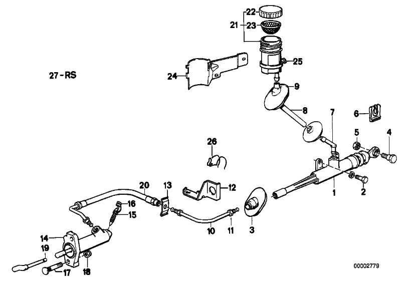 Nehmerzylinder Kupplung D=20,64MM       3er 5er 6er Z1  (21521157212)