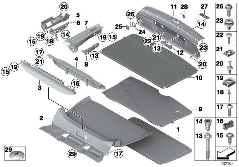 Verkleidung Gepäckraumboden  MINI  (51479810908)