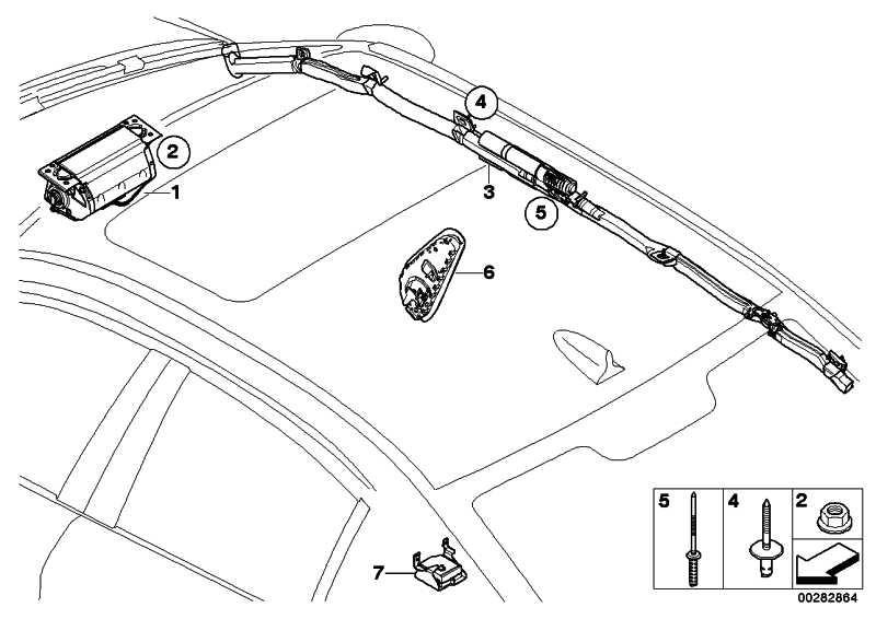 Seitenairbag Sitz vorne links  3er  (72126949791)
