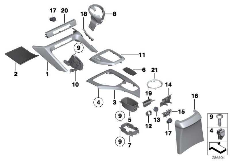 Rahmen Zentrale Bedieneinheit  X1  (51162991683)