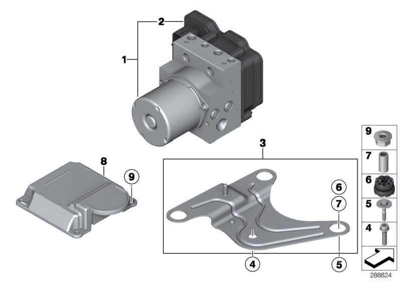 Reparatursatz Steuergerät DSC  5er 6er 7er  (34526868342)
