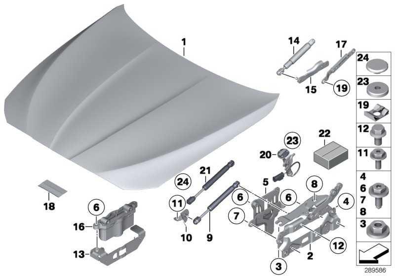 Frontklappe Aluminium  5er  (41617207194)