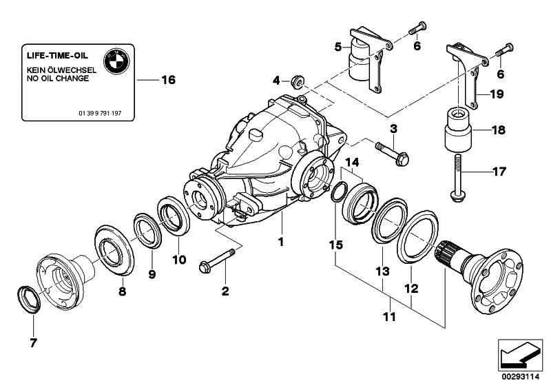 Austausch Hinterachsgetriebe I=3,38          3er  (33107509780)