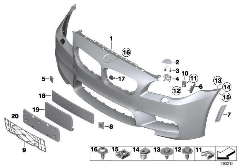 Verkleidung Stossfänger grundiert vorn M               5er  (51118050635)