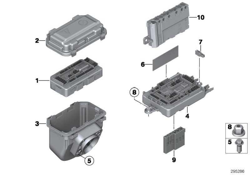 Stromverteiler hinten  1er 3er  (61149259466)
