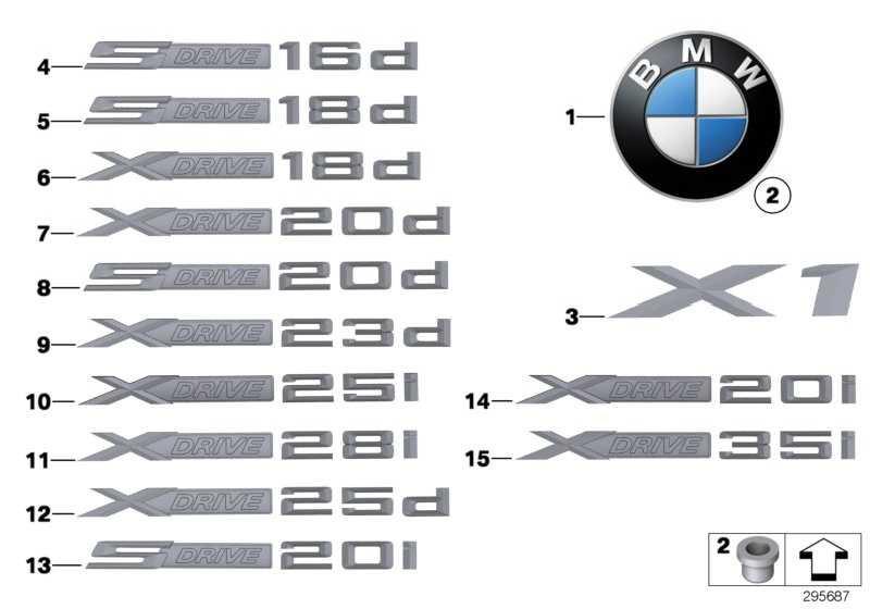 Schriftzug X1              X1  (51142990963)