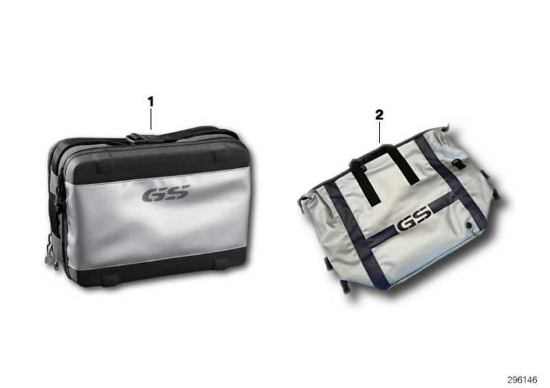 Innentasche für Koffer rechts/Topcase   (71607687611)