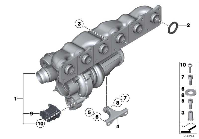 Austausch Turbolader  1er 3er  (11657636424)