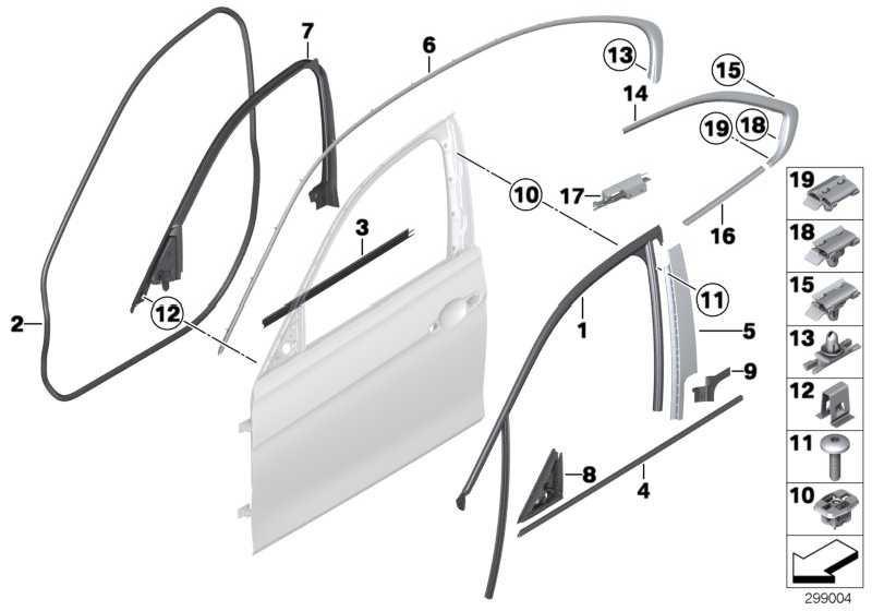 Abdichtung Fensterrahmen innen vo. links HIFI            3er  (51337323507)