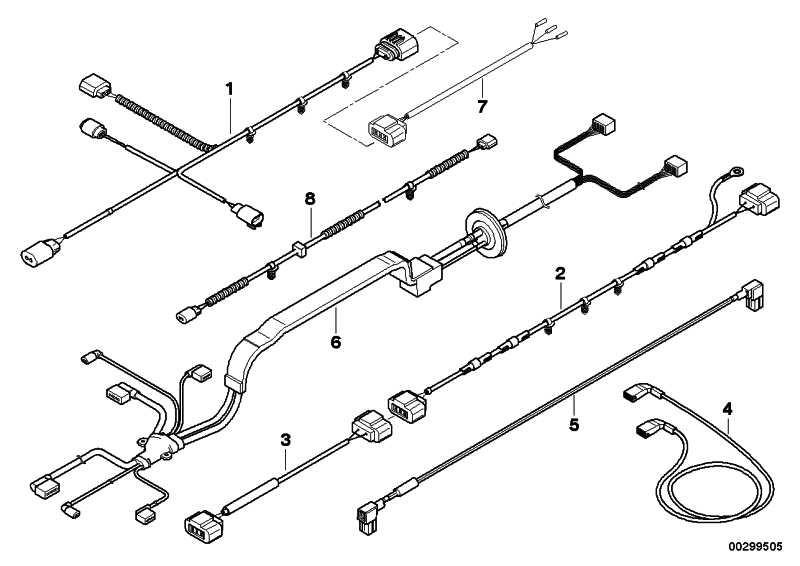 Kabelsatz Aktivlenkung Lenkgetriebe  X5 X6  (61129307435)