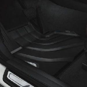 BMW Allwetterfußmatten schwarz hinten X3 F25 X4 F26