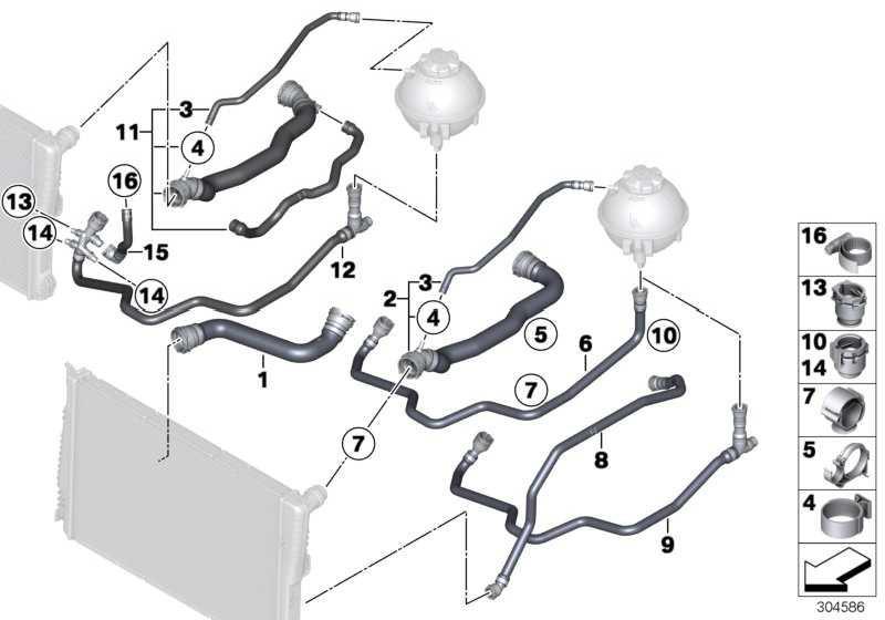 Kühlmittelschlauch  X3  (17128571618)