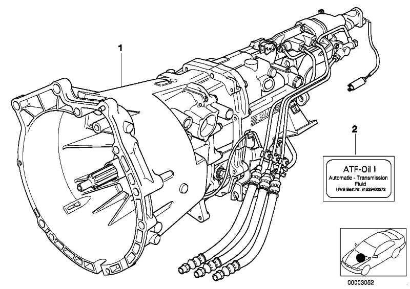 Austausch 6 Gang Getriebe sequentiell S6S 420G - TBAC 3er  (23002228817)