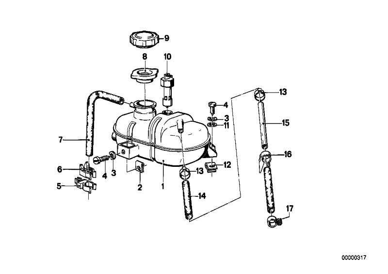 Niveauschalter Wasserkühler L=109MM         3er 5er 6er 7er  (61311375715)