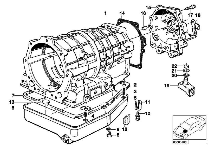 Verschlussschraube mit Dichtring M10X1           3er 5er 6er 7er 8er  (24111421387)