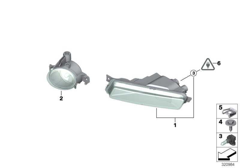Nebelscheinwerfer links  1er  (63177181287)