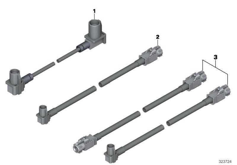 Rep.-Modul AUX In / USB L= 1605MM X3 X4  (61119344594)