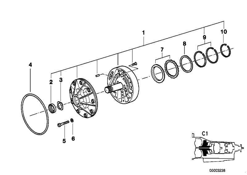 O-Ring 210X3           3er 5er 6er 7er X3 X5 X6 Z4  (24311219166)