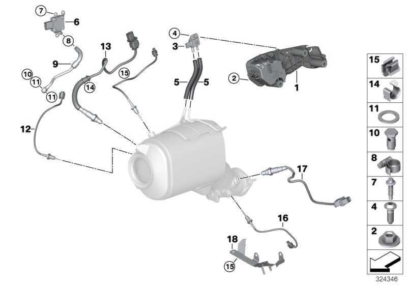 Sensor Differenzdruck  3er X6 X5 5er X3 6er 1er 7er 4er 2er MINI  (13627805758)