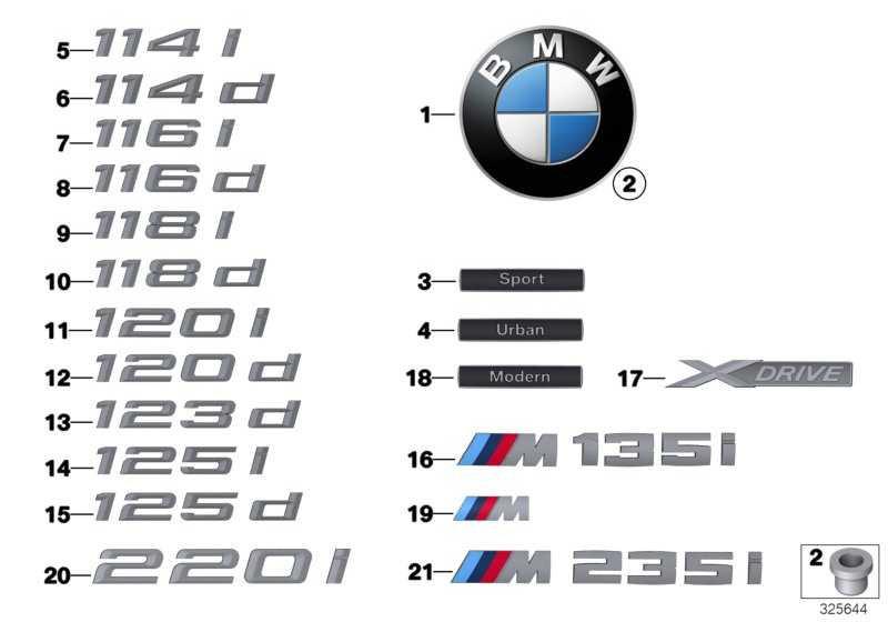 Emblem geklebt hinten - M135I -       1er  (51148055785)