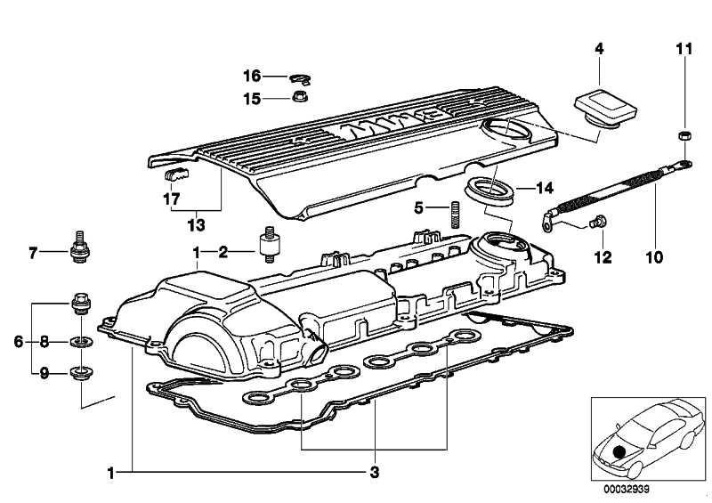 Verschlussdeckel M-POWER         3er Z3  (11121405452)