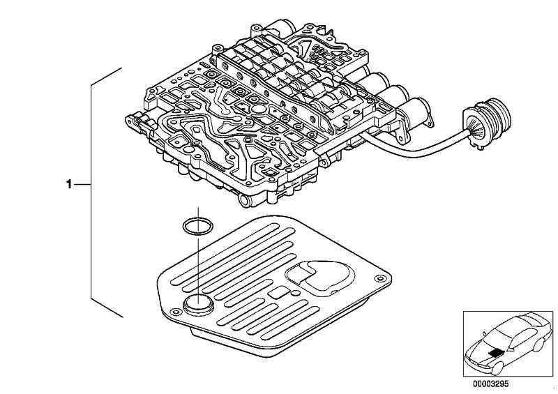 Austausch Schaltgerät  7er 5er X5  (24347521639)