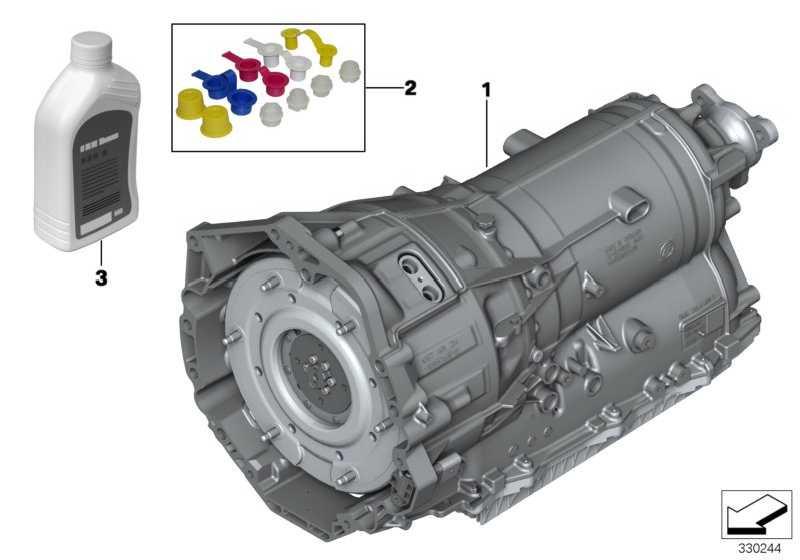 Austausch Automatikgetriebe EH GA8P70H         3er 5er  (24008605122)