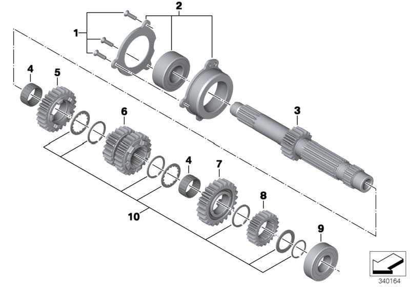 Lagerung Antriebswelle   (23007721816)