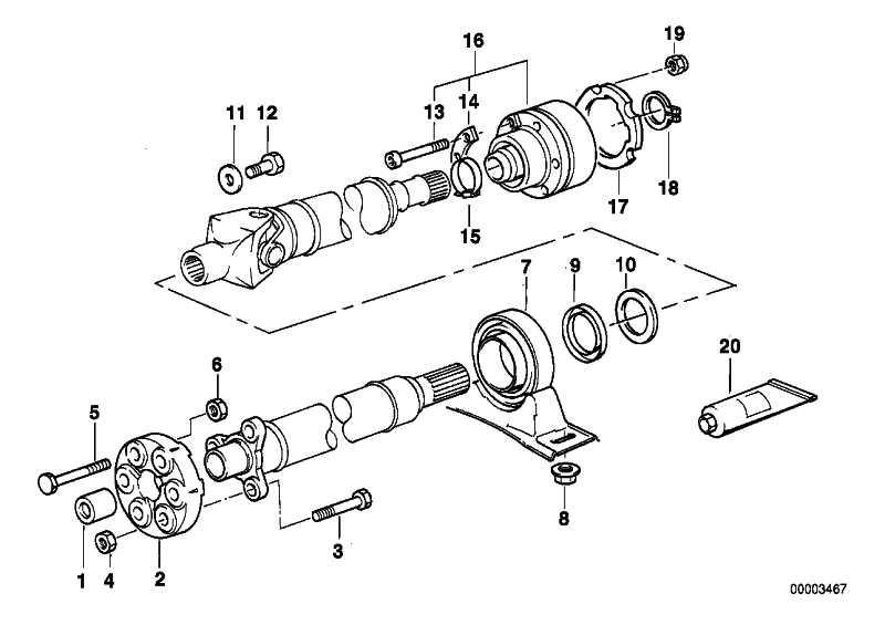 Zylinderschraube M8X55-PHR       5er 7er  (26117500174)