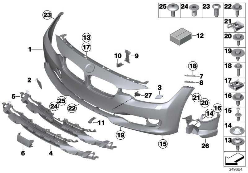 Verkleidung Stossfänger grundiert vorn SRA 3er  (51117292999)
