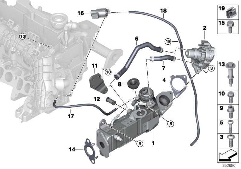 AGR-Ventil  2er 5er X3 X4 MINI  (11718513132)
