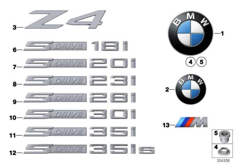 Schriftzug S DRIVE 28I     Z4  (51147288175)
