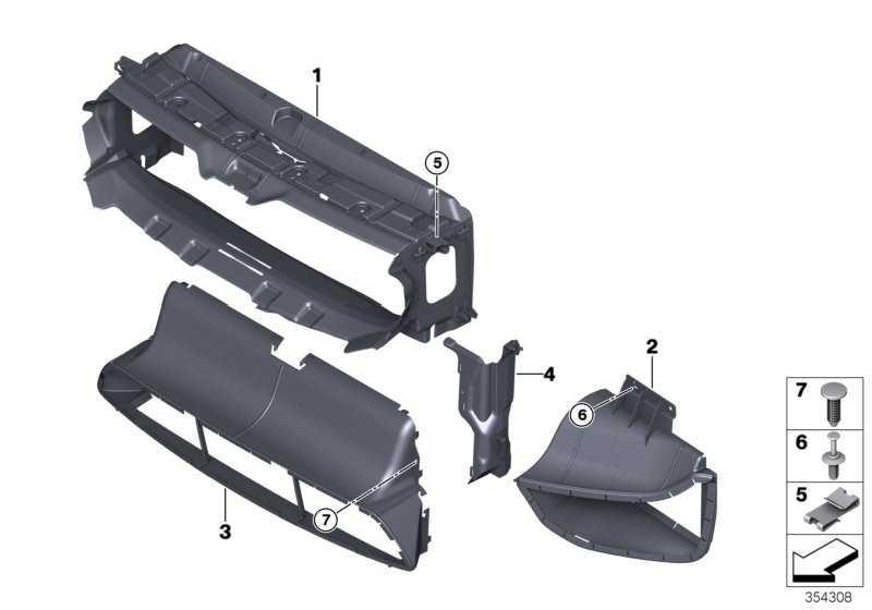 Luftführung Wasserkühler M3/M4 3er 4er  (51748054117)