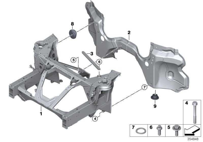 Torxschraube mit Bund ASA M8X30 i8 3er 4er  (31106859809)