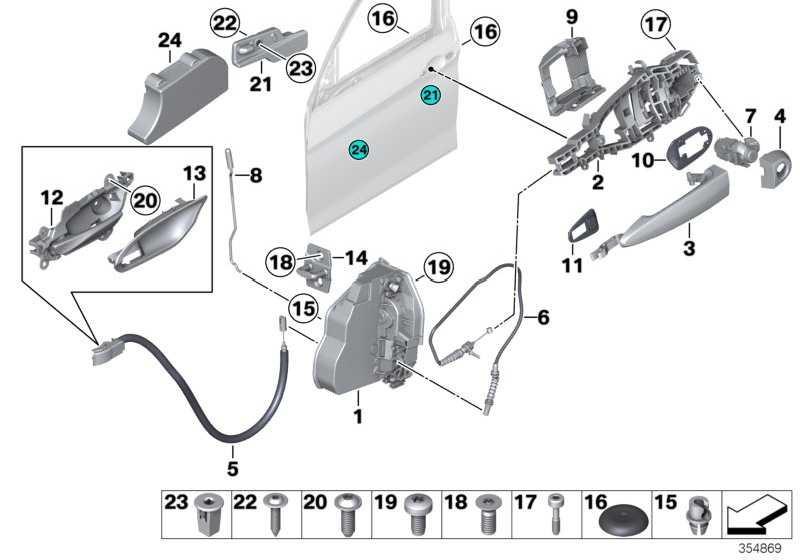 Schliesszylinder mit Schlüssel links  1er 3er 4er 2er  (51217310729)