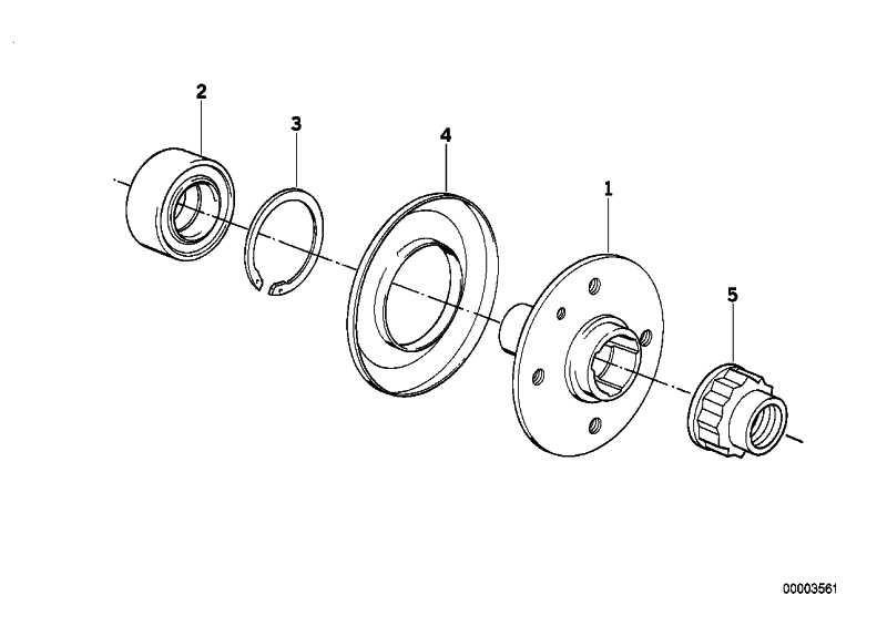 Bundmutter M24X1,5         3er 5er Z1 Z4  (33411132565)