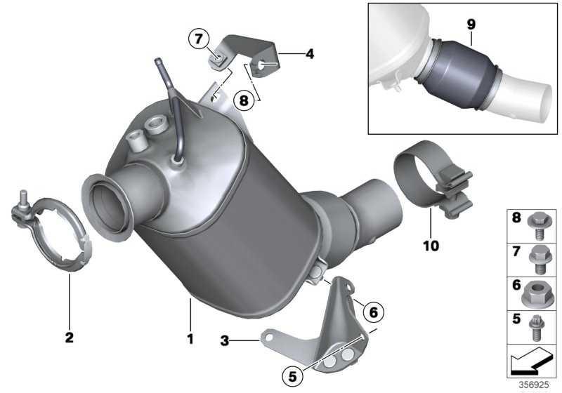Austausch Dieselpartikelfilter EU6             1er 2er 3er 4er 5er X3  (18308514988)