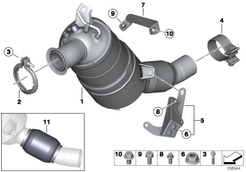 Austausch Dieselpartikelfilter EU4             1er X3  (18303440360)