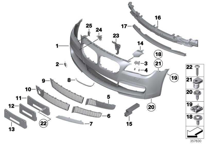 Verkleidung Stossfänger grundiert vorn M               7er  (51118046331)