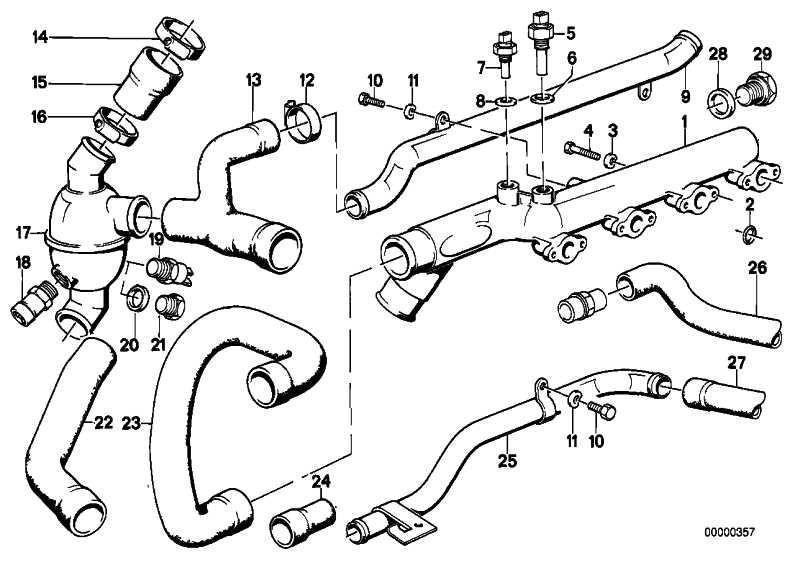 Wasseranschluss  3er BMW  (11531309756)