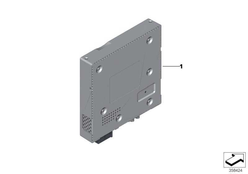 TV-Modul DVB-T2 3er 4er 5er 6er 7er X3 X4 X5 X6  (65506805976)