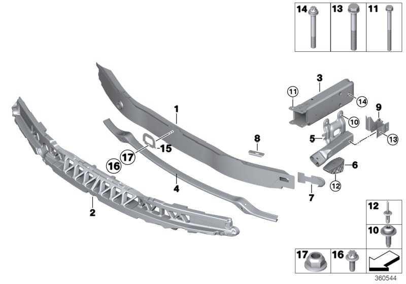 Deformationselement vorn links  3er 4er  (51117289909)