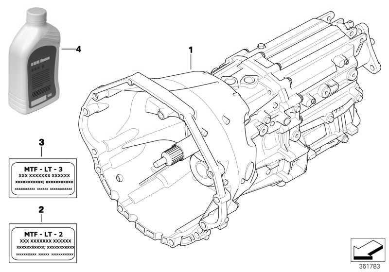 Austausch 6 Gang Getriebe GS6-53BZ - THGZ 5er 6er  (23007571425)